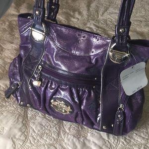 Purple Kathy Van Zeeland Purse